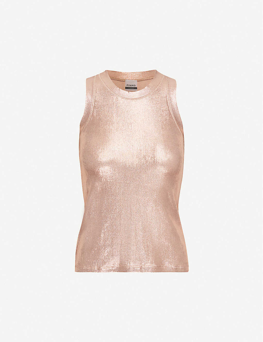 Metallic Racerback Top