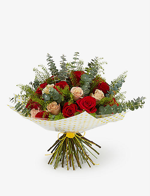 SELFRIDGES SELECTION English Garden medium bouquet