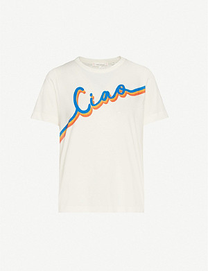 CHINTI AND PARKER Ciao cotton-jersey T-shirt