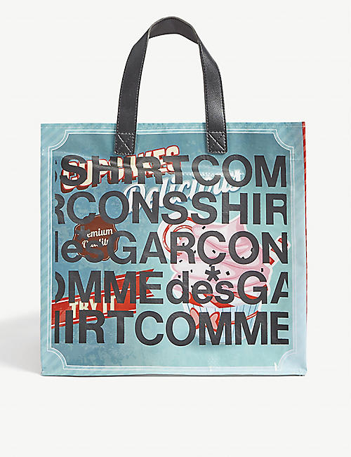 COMME DES GARCONS SHIRT: Shopping tote bag