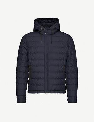 ERMENEGILDO ZEGNA Quilted regular-fit shell-down jacket