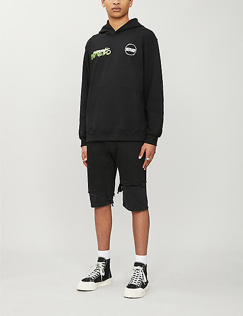 BOILER ROOM World Tour cotton-jersey hoody