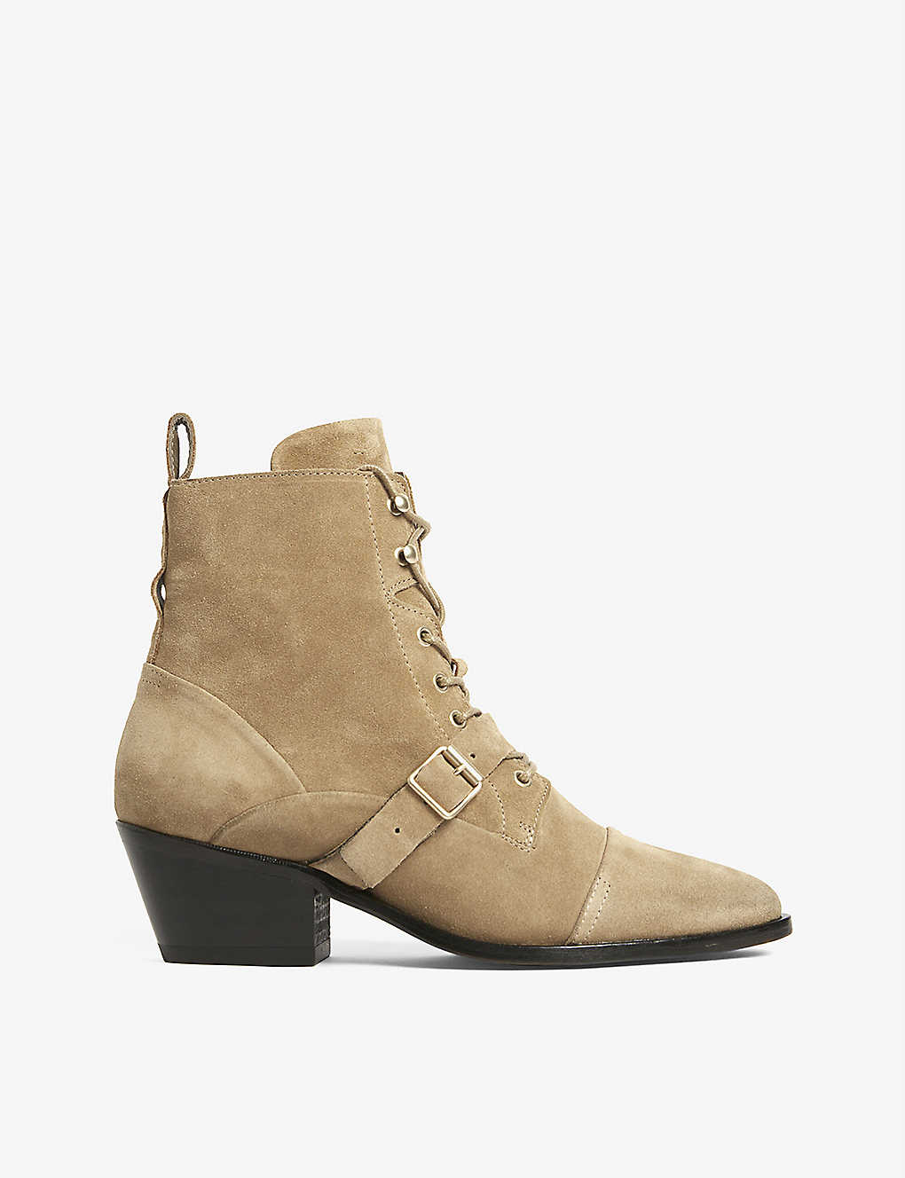 ALLSAINTS: Katy suede ankle boots