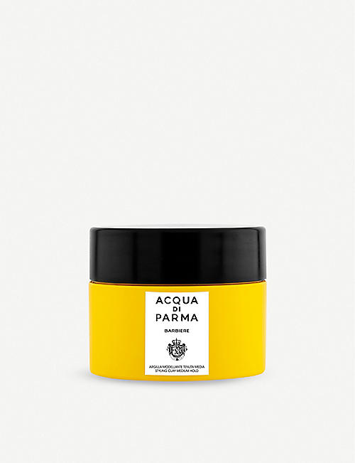 ACQUA DI PARMA: Barbiere styling clay medium hold clay 75ml