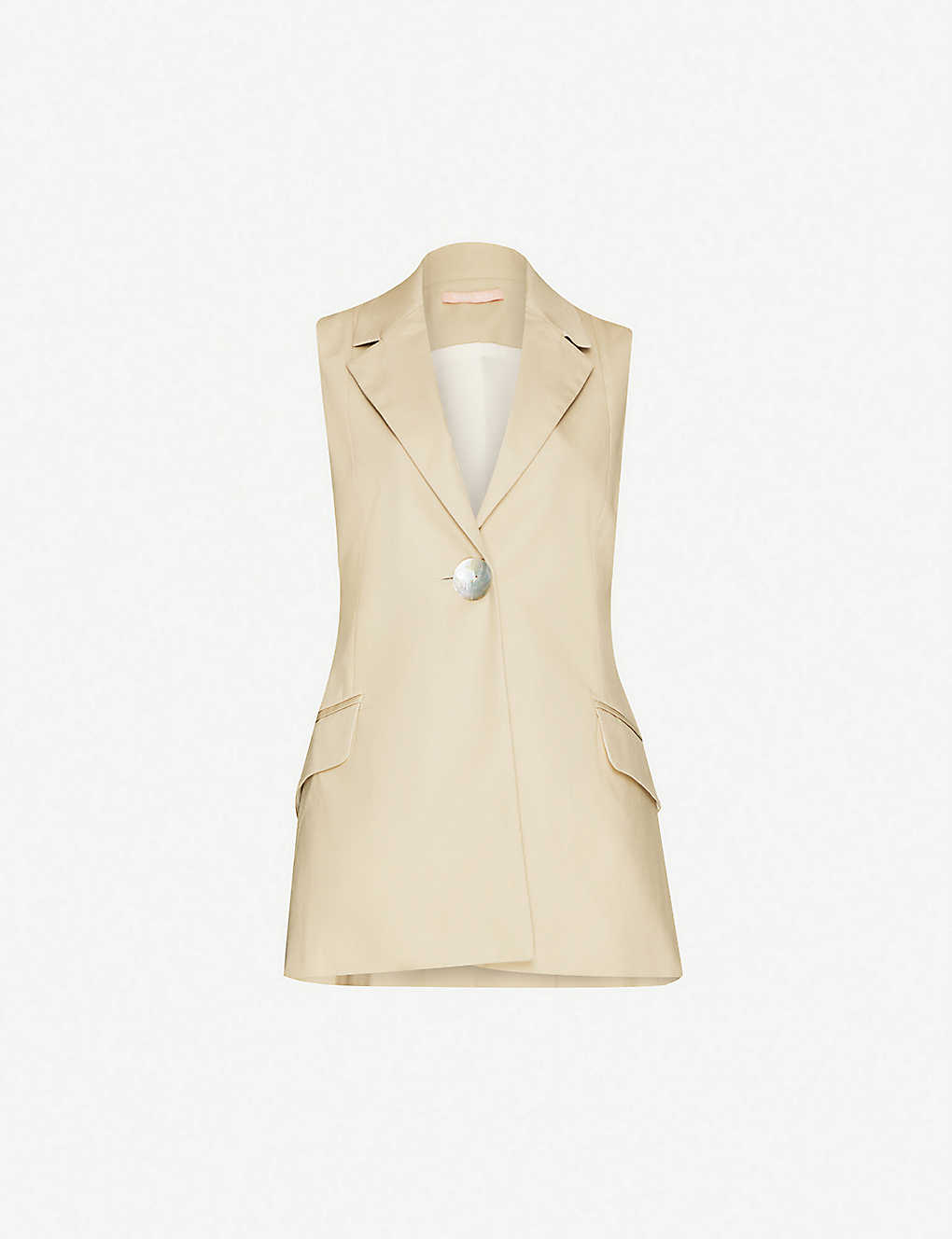 MAGGIE MARILYN: Together We Are One sleeveless cotton jacket