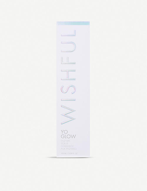 HUDA BEAUTY WISHFUL Yo Glow Enzyme Scrub 100ml
