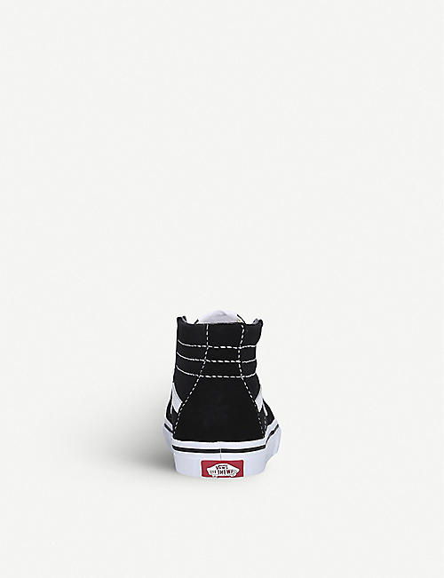 VANS Sk8-Hi suede and canvas high-top trainers 6 months – 5 years
