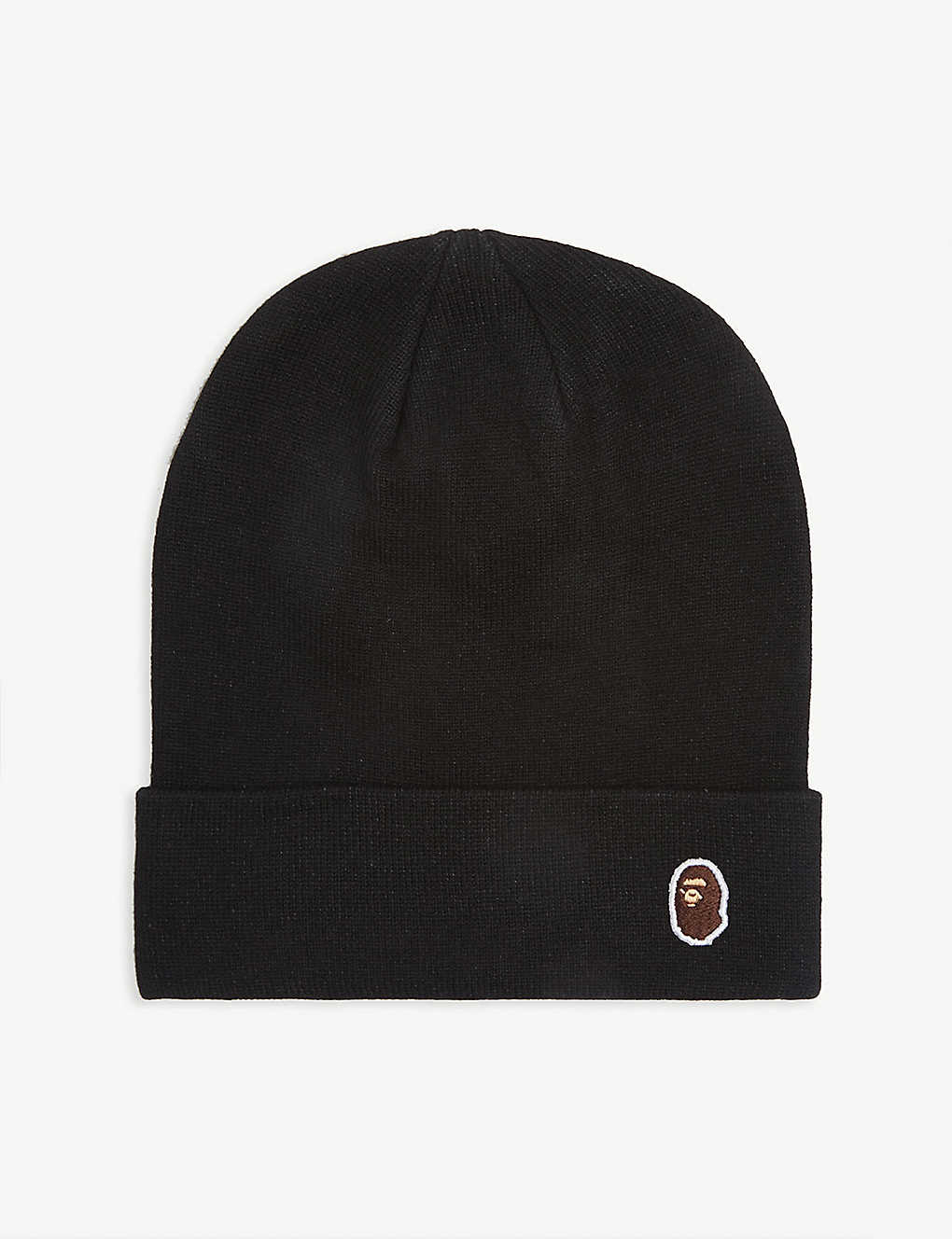 A BATHING APE: Head point wool beanie