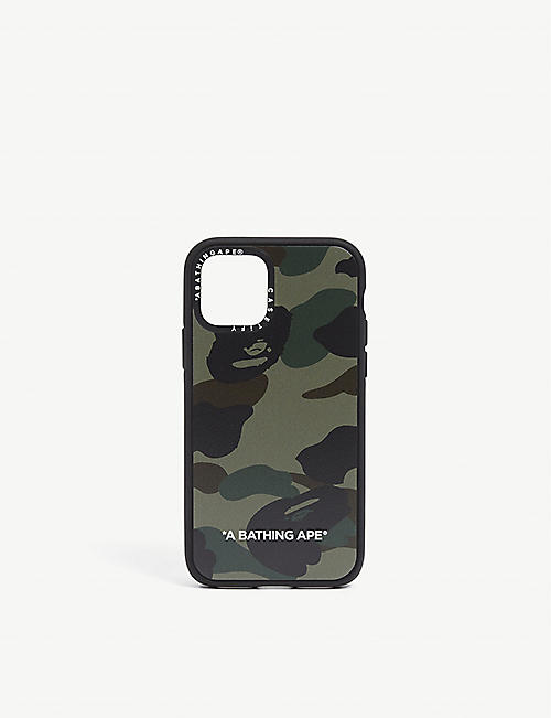 A BATHING APE: Casetify x Bape 1st camo-printed iPhone 11 Pro case