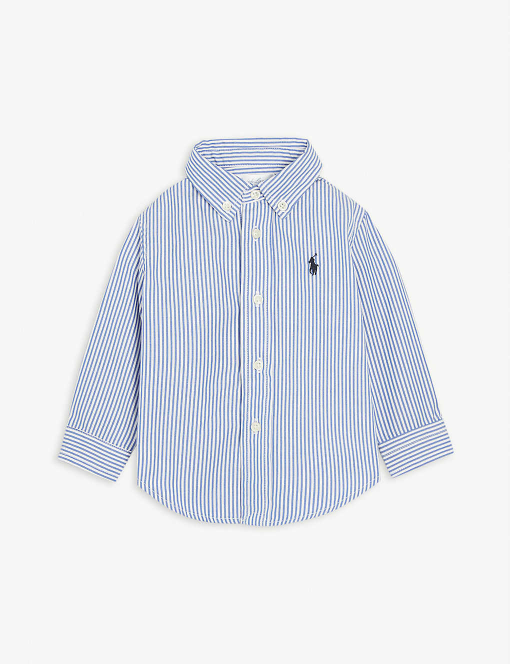 RALPH LAUREN: Striped cotton shirt 9-24 months