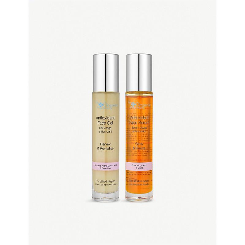 Antioxidant face serum & gel set