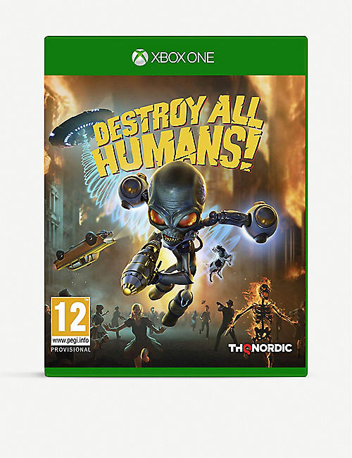 MICROSOFT:Destroy All Humans Xbox One 游戏机