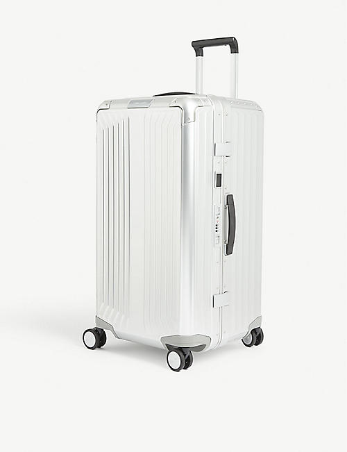 SAMSONITE: Lite-Box Alu spinner four-wheel suitcase 74cm