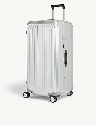 SAMSONITE: Lite-Box Alu Trunk aluminium suitcase 80cm