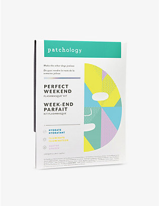 PATCHOLOGY: Flashmasque Perfect Weekend sheet masks pack of three