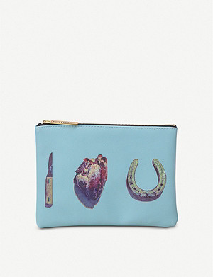SELETTI I Love You cosmetic bag