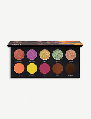 UOMA BEAUTY Black Magic Colour eyeshadow palette 10g