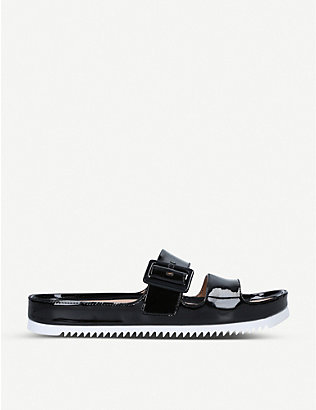 UGG: Cooper patent faux-leather sandals