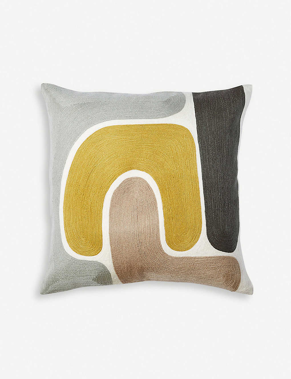 THE CONRAN SHOP: Knoss embroidered cushion cover 45cm