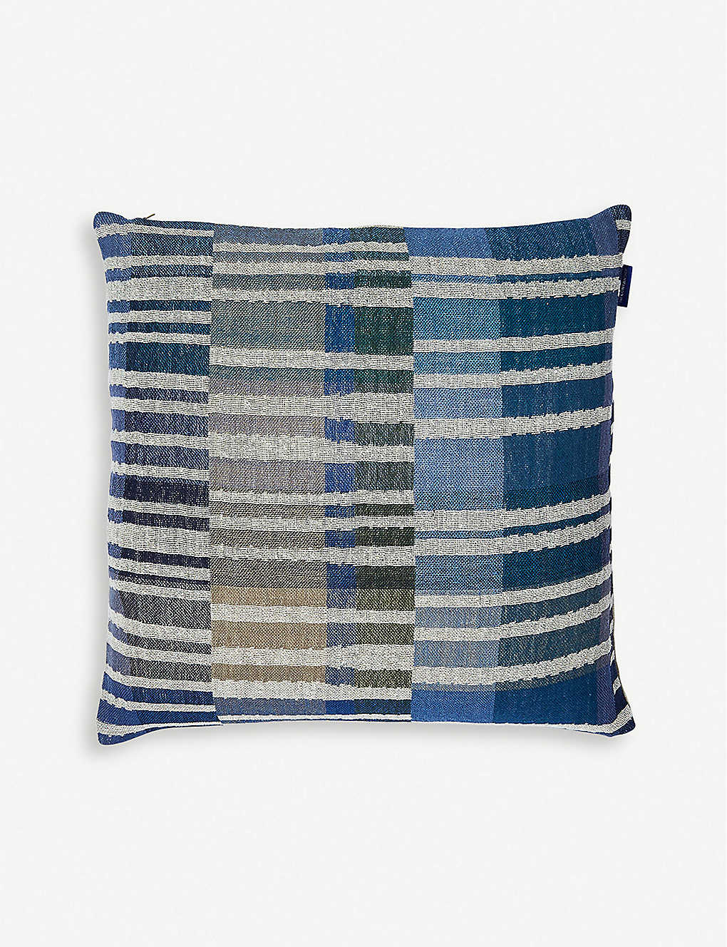 THE CONRAN SHOP: Delphi linen and silk-blend cushion 45cm x 45cm