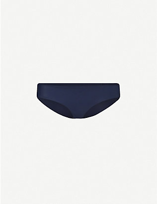 THE FOLD D+ SWIM: The Form mid-rise bikini bottoms