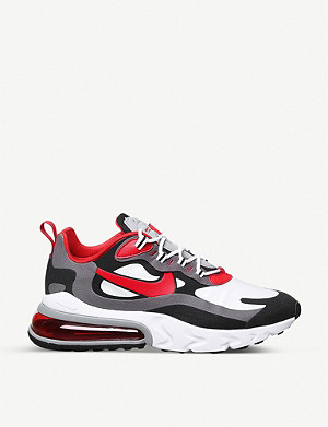 NIKE Air Max 270 React woven trainers