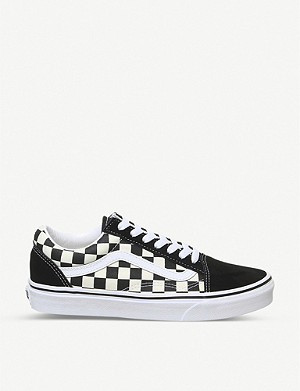 VANS Old Skool check trainers