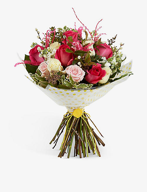 SELFRIDGES SELECTION: Summer Garden medium bouquet