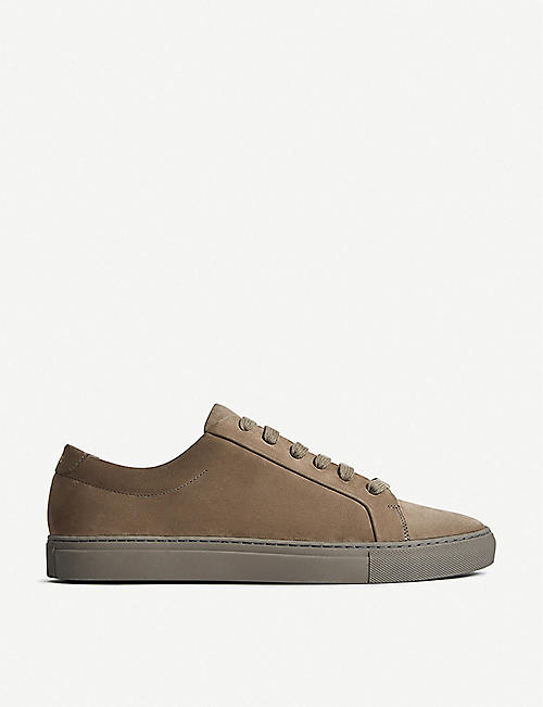 REISS: Luca suede trainers