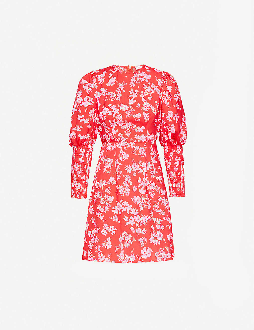 NEVER FULLY DRESSED: Delores floral-print woven mini dress