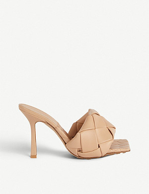 BOTTEGA VENETA Lido Intrecciato-woven leather sandals