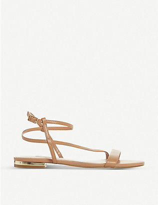 DUNE: Nicoletta open-toe strappy sandals