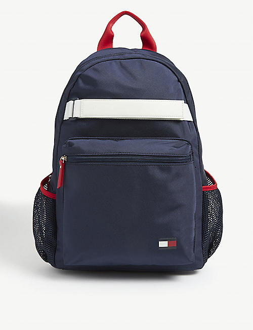 TOMMY HILFIGER Flag logo backpack