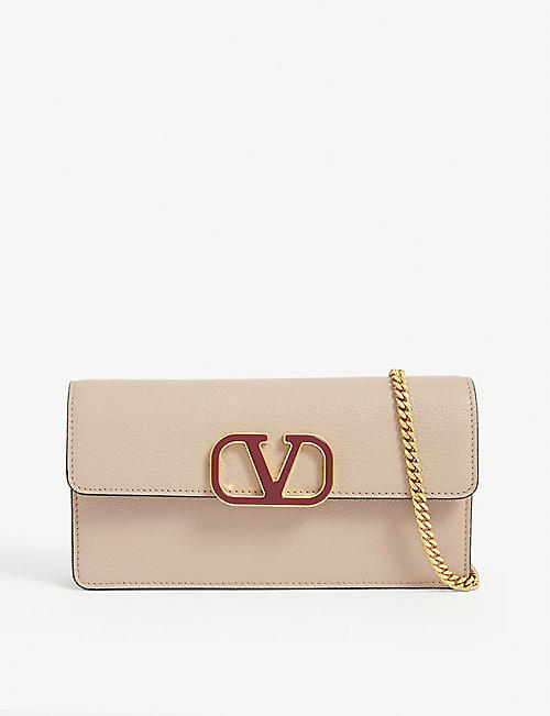 VALENTINO GARAVANI VSLING leather wallet-on-chain