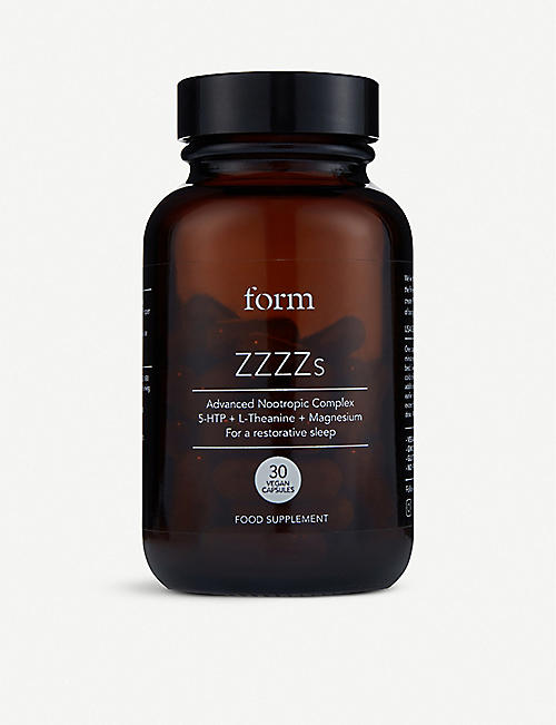 FORM: ZZZZs food supplements 30 capsules