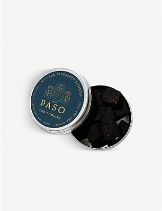 PASO: Blueberry CBD 280mg gummy sweets 28g