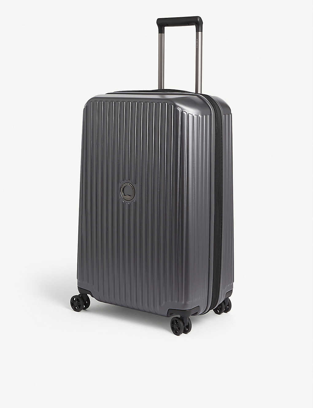 DELSEY: Securitime Zip four-wheel spinner suitcase 68cm