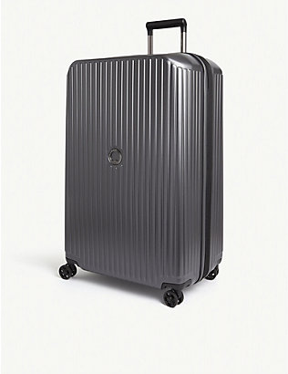 DELSEY: Securitime Zip four-wheel expandable suitcase 77cm