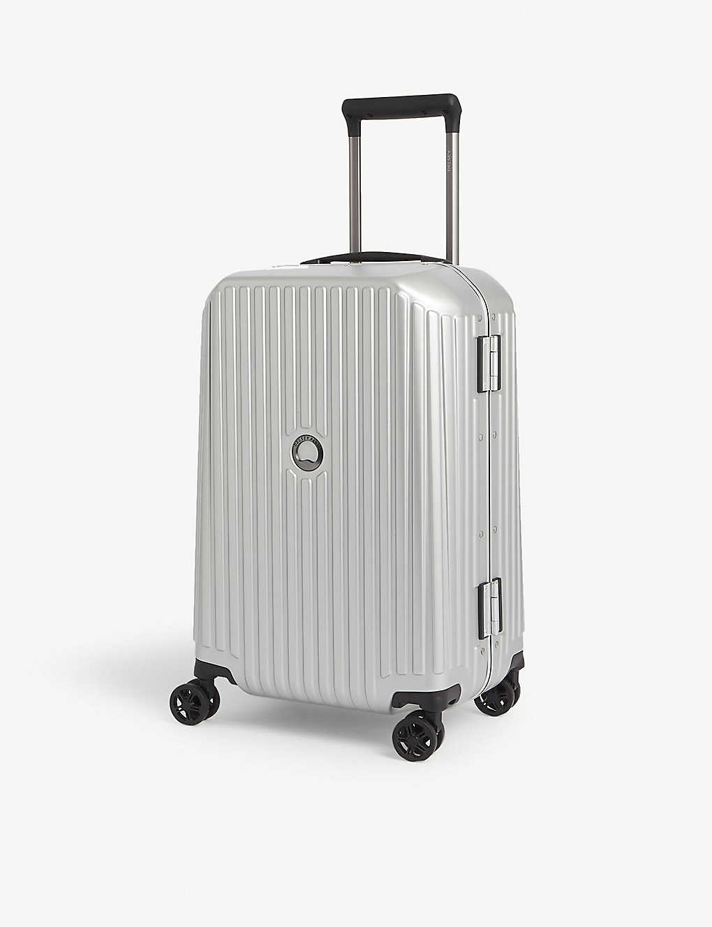 DELSEY: Securitime Frame four-wheel spinner suitcase 55cm