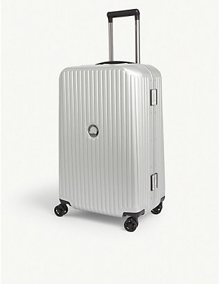 DELSEY: Securitime Frame four-wheel spinner suitcase 67cm