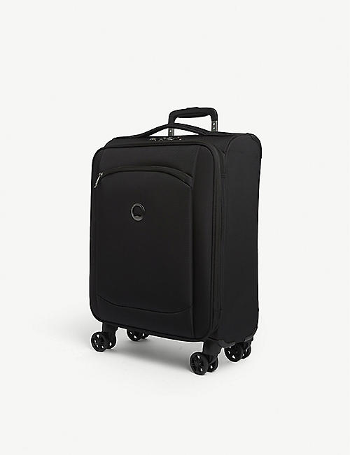 DELSEY: Montmartre 2.0 recycled-shell suitcase 55cm