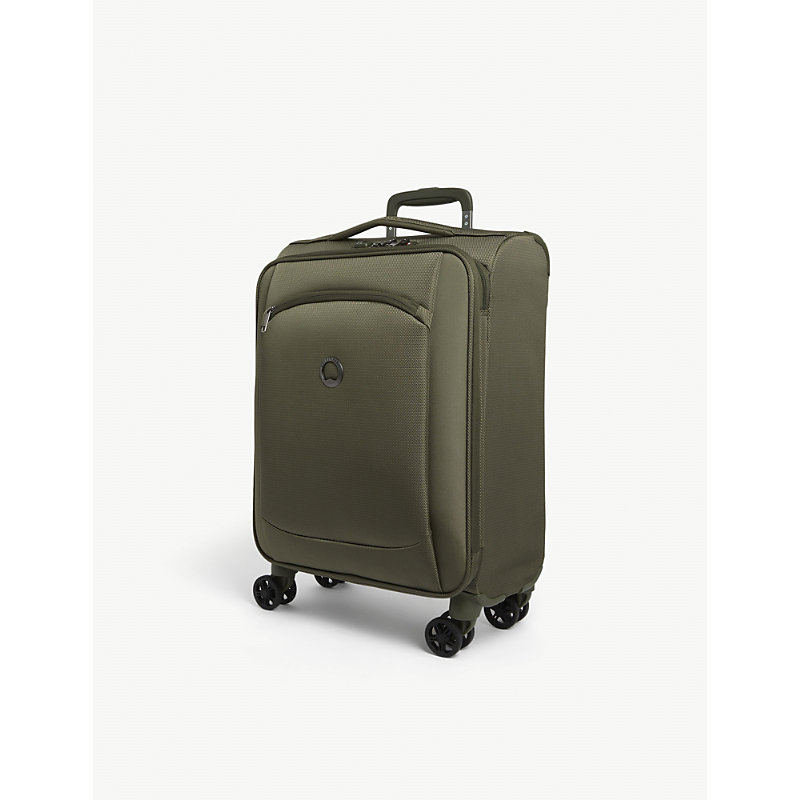 Delsey Montmartre 2.0 Recycled-shell Suitcase 55cm In Green