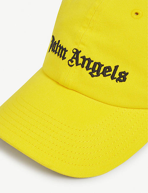 PALM ANGELS Logo cotton baseball cap