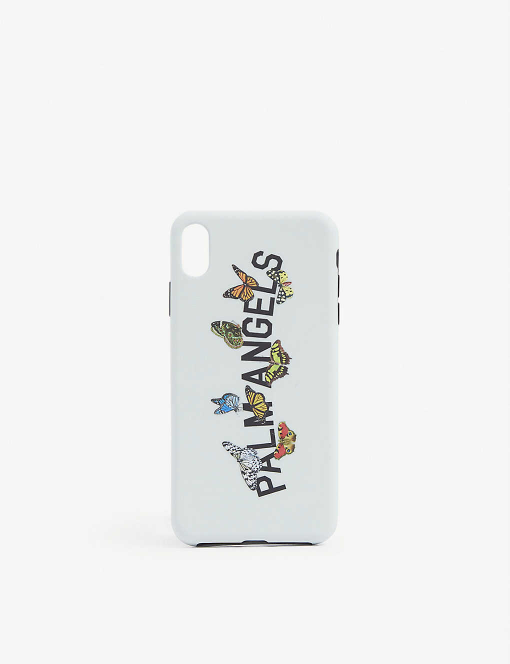 PALM ANGELS: Butterfly print silicone iPhone XS Max case