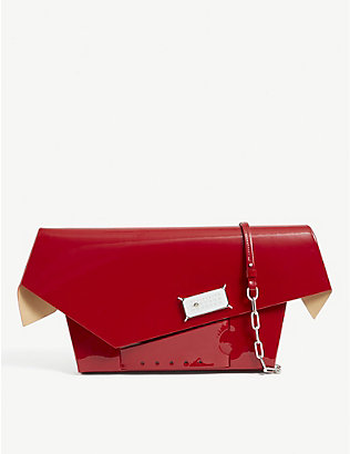 NONE: Snatched leather shoulder bag