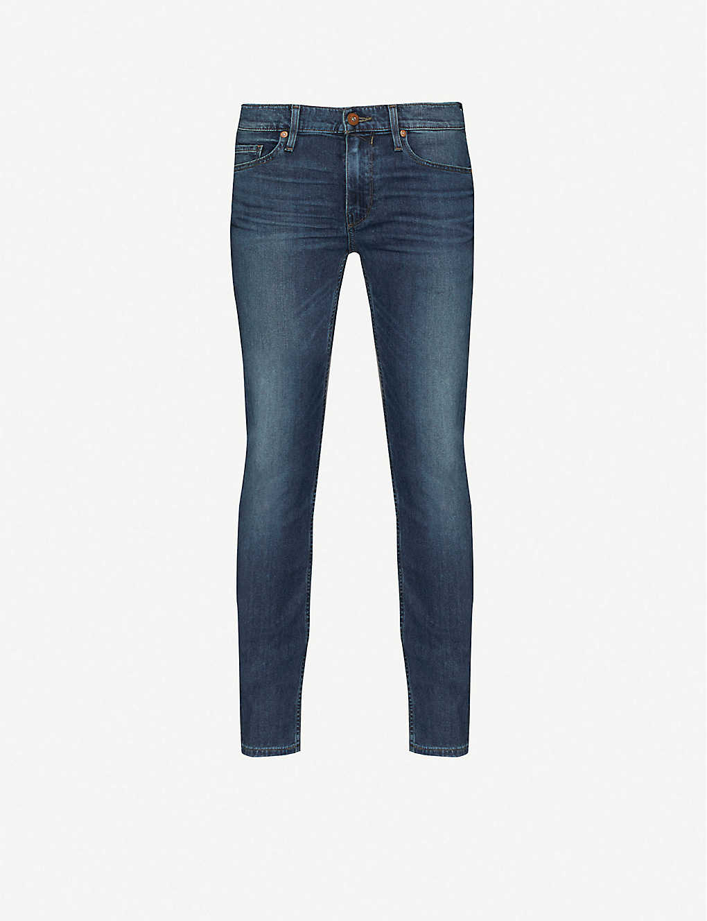 PAIGE: Lennox slim-fit skinny stretch-denim jeans