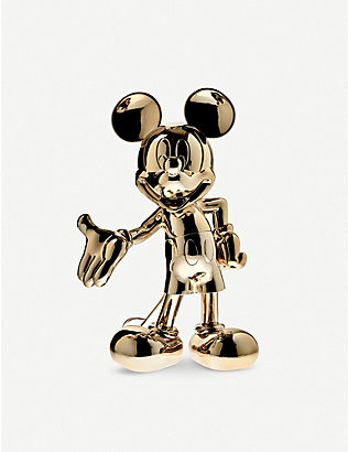 LEBLON DELIENNE: Mickey Mouse Welcome chrome figure 60cm