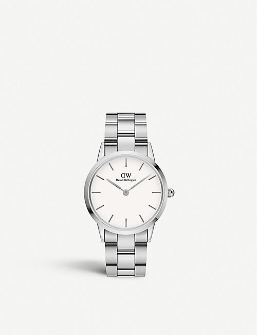 DANIEL WELLINGTON: DW00100203 Iconic Link stainless steel watch