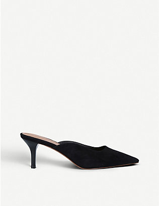 WHO WHAT WEAR: June heeled mules