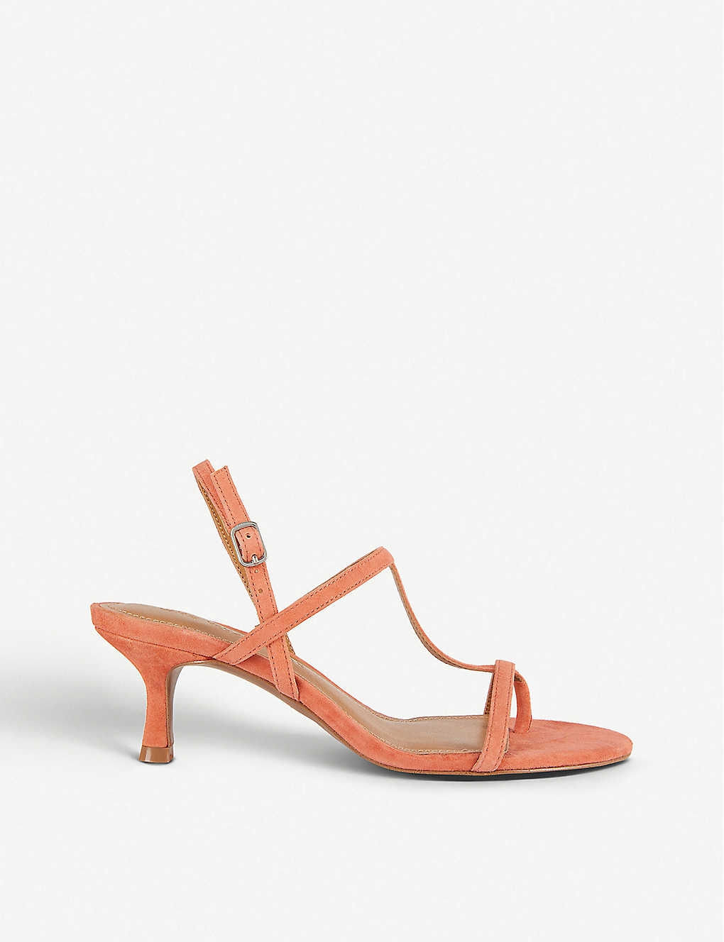 WHO WHAT WEAR: Romi heeled suede sandals